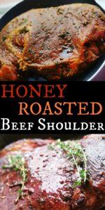 Honey Roasted Beef Shoulder
