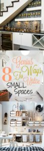 8 genius ways to utilize small spaces