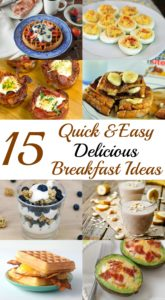 Quick and easy delicious breakfast ideas